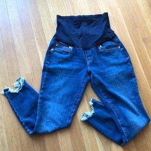 Gap Maternity True Skinny Jeans, Size 27